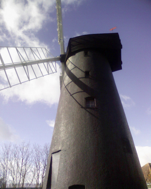 Photograph of the Brixton Windmill