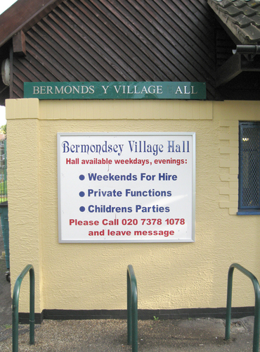 Sign advertising Hire for childrens parties.