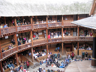 Audience at the Globe