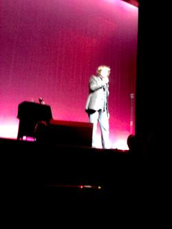 Dylan Moran on stage