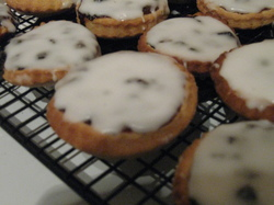 Some mince pies
