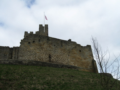 A view of Prudhoe Castle