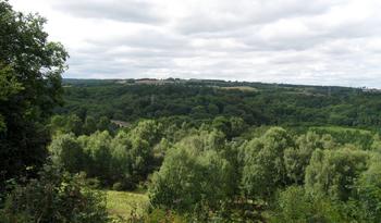 Photo of countryside around Hollinside Manor