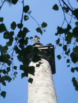 Photo of GIbside monument