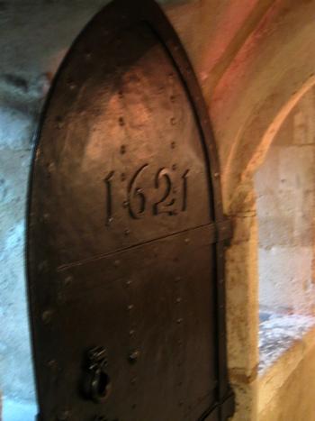 Door dated 1621