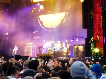 The Stone Roses on stage